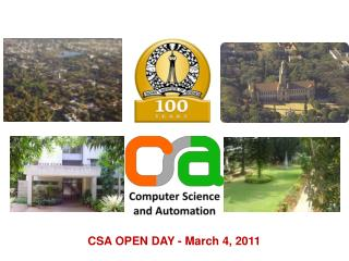 CSA OPEN DAY - March 4, 2011