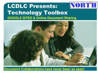 LCDLC Presents:  Technology Toolbox