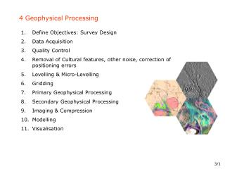 4 Geophysical Processing