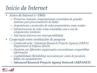 Início da Internet