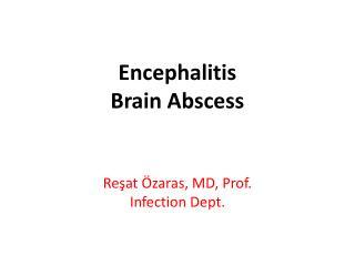 Encephalitis Brain Abscess