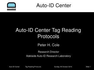 Auto-ID Center