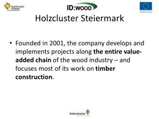 Holzcluster Steiermark