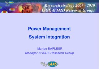 Power Management  System Integration
