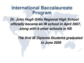 International Baccalaureate Program