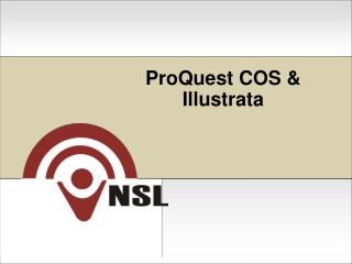 ProQuest  COS & Illustrata
