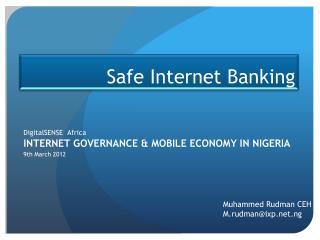 Safe Internet Banking