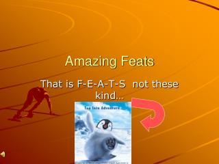 Amazing Feats