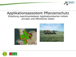 Der  Applikationsassistent Pflanzenschutz  ist