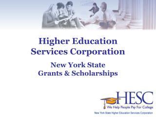 New York State  Grants & Scholarships