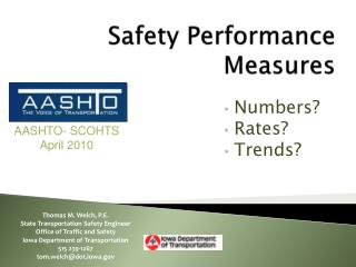 Safety Performance Measures