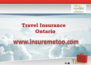 Travel Insurance Broker Ontario