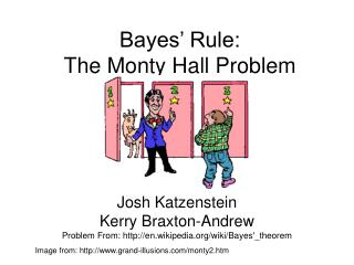 Bayes' Rule:  The Monty Hall Problem