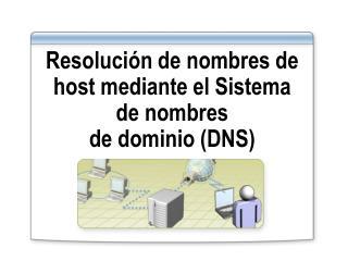 Resoluci�n de nombres de host mediante el Sistema de nombres  de dominio (DNS)