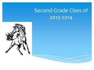 Second Grade Class of 2013-2014