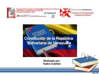 Realizado por: Yadira Cubillán