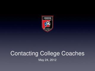 Contacting College Coaches