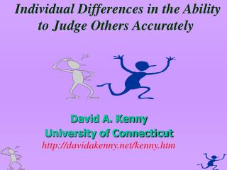 Individual Differences in the Ability to Judge Others Accurately
