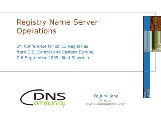 Registry Name Server Operations