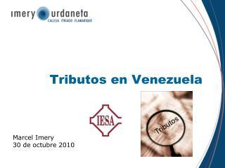 Tributos en Venezuela