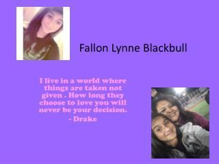 Fallon Lynne Blackbull