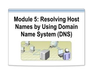 Module 5: Resolving Host Names by Using Domain Name System (DNS)