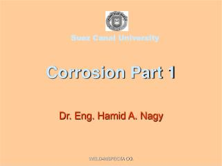 Corrosion Part 1