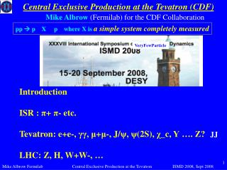 Central Exclusive Production at the Tevatron (CDF)