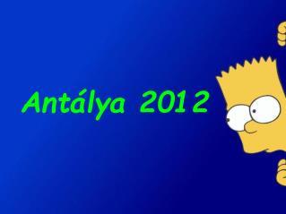 Antálya 2012