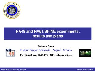NA49 and NA61/SHINE experiments: results and plans