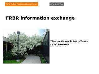 FRBR information exchange