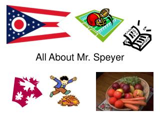 All About Mr. Speyer