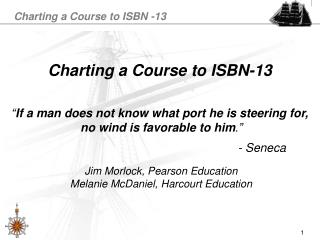 Charting a Course to ISBN-13