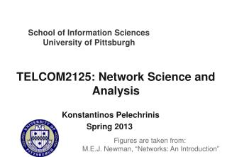 TELCOM2125: Network Science and Analysis