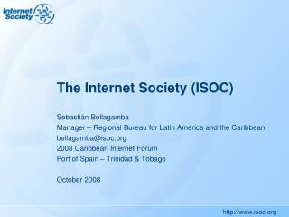 The Internet Society (ISOC)