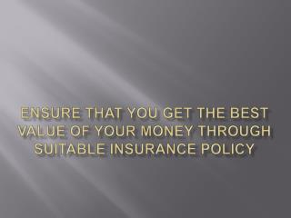 Ensure that you get the best value of your money through sui