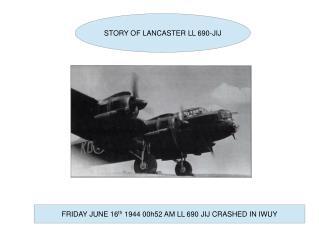 STORY OF LANCASTER LL 690-JIJ