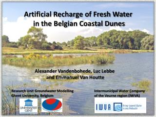 Artificial Recharge of Fresh Water  in the Belgian Coastal Dunes