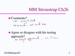 MM Stroustrup Ch26