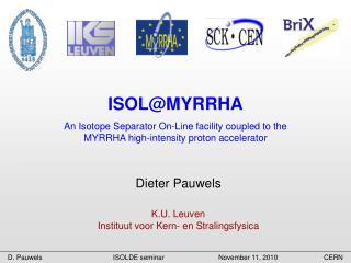 ISOL@MYRRHA