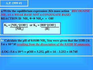 A.P. 1999 #1
