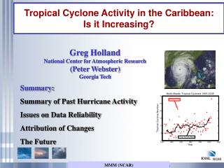 Tropical Cyclone Activity in the Caribbean:  Is it Increasing?