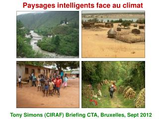 Paysages intelligents face au climat