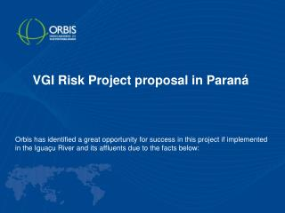 VGI Risk Project proposal in Paraná