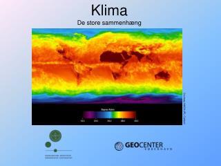 Klima De store sammenhæng