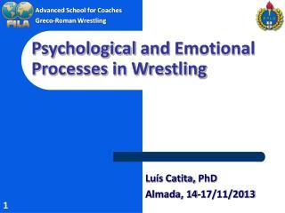Advanced School  for  Coaches Greco-Roman  Wrestling