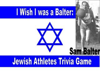 I Wish I was a Balter: