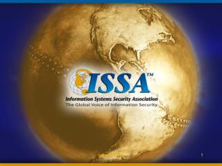 Information System Security Association ISSA Buffalo Niagara
