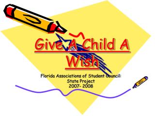 Give A Child A Wish