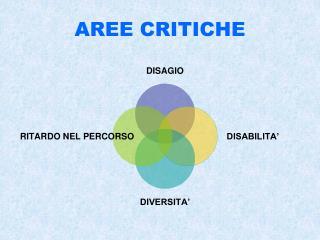AREE CRITICHE